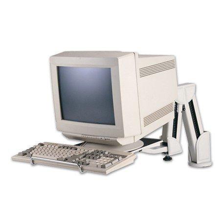 Brazo para monitor y teclado universal Q-Connect