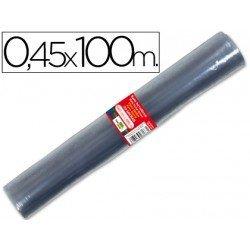 Rollo plastico forralibros Liderpapel 0, 45 m x 100 m