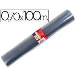Rollo plastico forralibros Liderpapel 0,70 m x 100 m