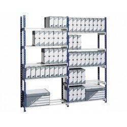 Estanteria metalica 5 estantes Paperflow