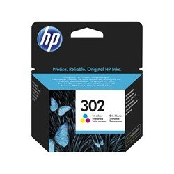 Cartucho Original HP 302 F6U65AE Color Tricolor