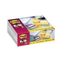 Dispensador Bloc Quita y Pon Post-It ® Super Sticky 76x76 mm Amarillo