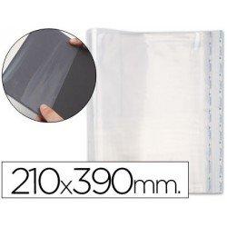 Forralibro pp ajustable adhesivo 210x390mm -blister
