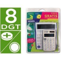 Calculadora sobremesa citizen cdc-80 y sld-322 blister 1 unidad