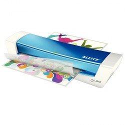 Plastificadora Leitz DIN A4 con 2 Rodillos hasta 100MC Azul