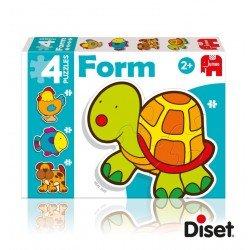 Puzzles Bebé a partir de 2 años Animales marca Diset