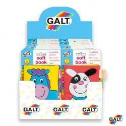 Cuentos para bebes Actividades y texturas marca Galt Toys