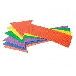 Flecha recta de caucho antideslizante set de 6 unidades marca Amaya
