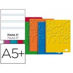 Bloc Cuarto espiral Tapa cartoncillo Write Liderpapel pauta 2.5 mm