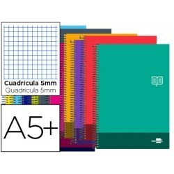 Bloc Cuarto Liderpapel serie Discover cuadricula 5 mm