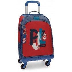 Maleta Trolley 44x33x21 cm en Poliéster Pepe Jeans James
