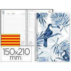 Agenda 2018 Chania Dia pagina Catalan DIN A5 Blanca Liderpapel