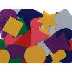 Figuras de fieltro Autoadhesivas Colores surtidos marca itKrea