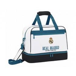 Bolsa Deporte Real Madrid 1ª Equipación 17/18 48x27x38 zapatillero