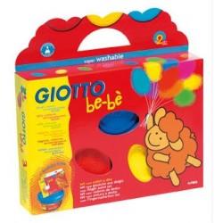 Pintura de dedos Giotto Be-be