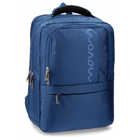 """Mochila para portatil hasta 13,3"""" Movom Manhattan Azul"""