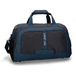 Bolsa de viaje Pepe Jeans 50x27x27 cm en Poliéster Greenwich Azul