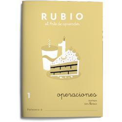 Cuaderno Rubio Operaciones nº 1 Sumar sin llevar