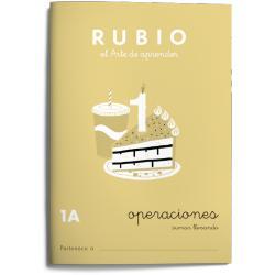 Cuaderno Rubio Matemáticas Operaciones nº 1 A Sumar llevando