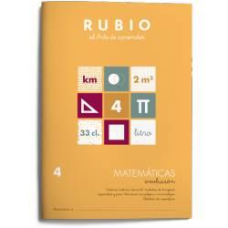Cuaderno Rubio Matemáticas Evolución nº 4 Sistema métrico decimal: medidas de longitud, capacidad y peso