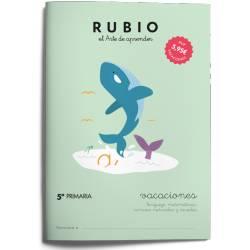 Cuaderno Rubio Vacaciones 5º Primaria Repaso
