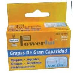 GRAPAS FLECHA POWERHIT 26/6 CAJA DE 5000 UNIDADES