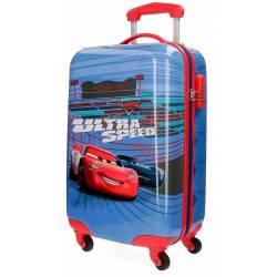 Maleta de Cabina en 55x34x20 cm Rigida Cars Ultra Speed