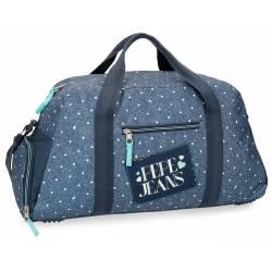Bolsa de viaje 55x27x20 cm en Poliester Pepe Jeans Olaia Azul