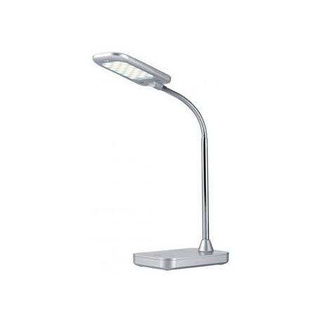 Lampara de Oficina Archivo 2000 Flex Tactil LED 5W Blanco Neutro Plata