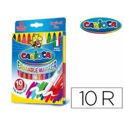 Rotulador Carioca Erasable Magic 10 unidades